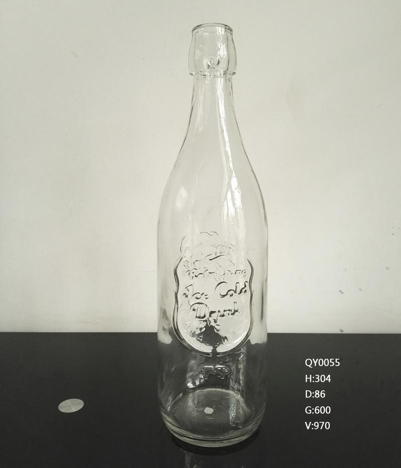 玻璃瓶卡扣麻油瓶 橄榄油瓶